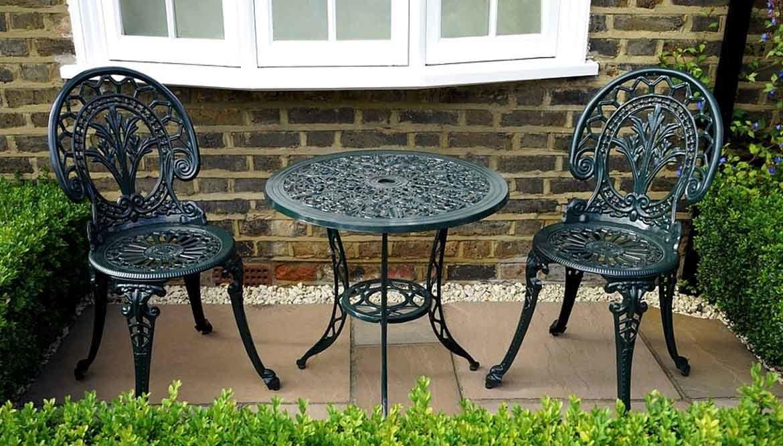 Tavolini da giardino in ferro